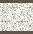 seamless background repeating geometric vector image vector image
