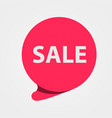 special offer sale red tag discount offer price vector image