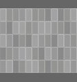 3d brick stone pavement texture background gray vector image vector image