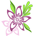 Embroidery traditional design vector image