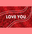 hand drawn background flower red roses valentines vector image