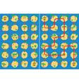 islands maze vector image vector image