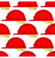 safety hardhat pattern vector image vector image