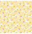 Seamless Pattern with little pink flowers vector image vector image