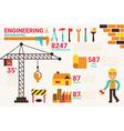 Engineering concept vector image