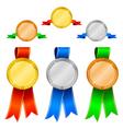 medals set 1 vector image