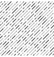 abstract seamless black gray stripe line pattern vector image vector image