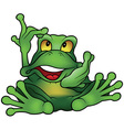 Chatty Frog vector image
