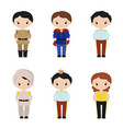 collection of cute princes collection of cute vector image vector image