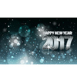 Happy New Year blurred background Year 2017 vector image