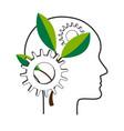 personal development concept nlp symbol vector image