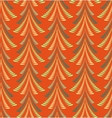 Seamless Christmas pattern Firs trees on red vector image vector image