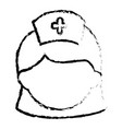 woman nurse avatar character vector image