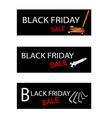 Car Jack and Repair Tools Kits on Black Friday vector image vector image