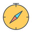 compass line icon simple minimal 96x96 pictogram vector image vector image