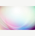 curved abstract with colors background vector image vector image
