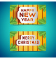 happy holidays banners vector image