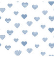 heart bacute seamless pattern vector image