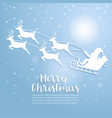 merry christmas art and vector image vector image