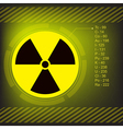 radioactive vector image vector image