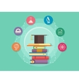 Science education flat style vector image