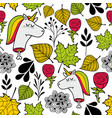 seamless sad pattern in autumn colors vector image vector image