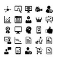 seo and digital marketing glyph icons 12 vector image vector image