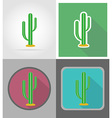 wild west flat icons 16 vector image vector image