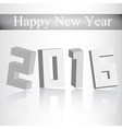Background Happy new Year 2016 vector image vector image