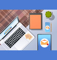 envelope digital marketing e-mail inbox message vector image