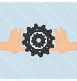 teamwork concept design vector image vector image