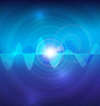 Wave sound pulse abstract technology background