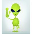 Cartoon Character ALIEN 039 CS5 vector image vector image