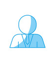 lawyer man icon vector image vector image