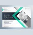 modern brochure design for business presentation vector image vector image