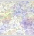 polygonal mosaic background in soft colors vector image vector image