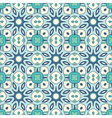 seamless ornate geometric pattern vector image
