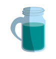 water in glass cup icon image vector image