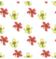 botanical abstract seamless pattern background vector image