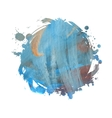 watercolor grunge spot vector image
