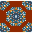 Beautiful Indian geometric seamless ornament print vector image