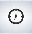 clock icon time icon vector image