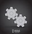 Cog wheel vector image vector image