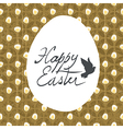 easter card design diamond pattern vector image vector image