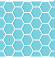 hexagons geometric design background vector image vector image