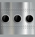Round window Stock vector image vector image