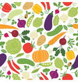 Seamless pattern with vegetables vector | Price: 3 Credits (USD $3)