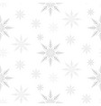snow patterns vector image