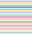 striped horizontal seamless pattern vector image