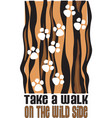 Walk On The Wild Side vector image
